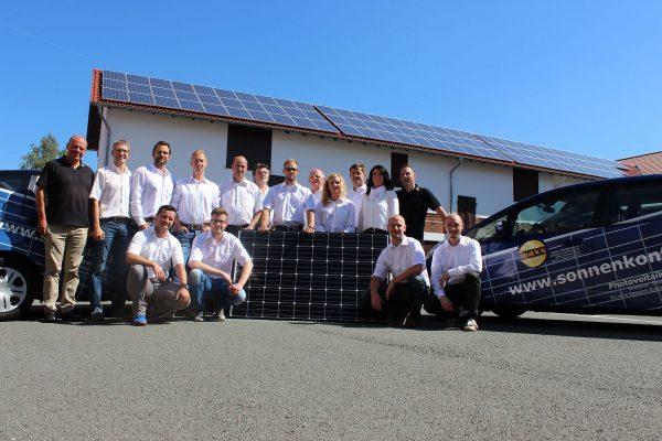 DAS Team der maxx-solar & energie