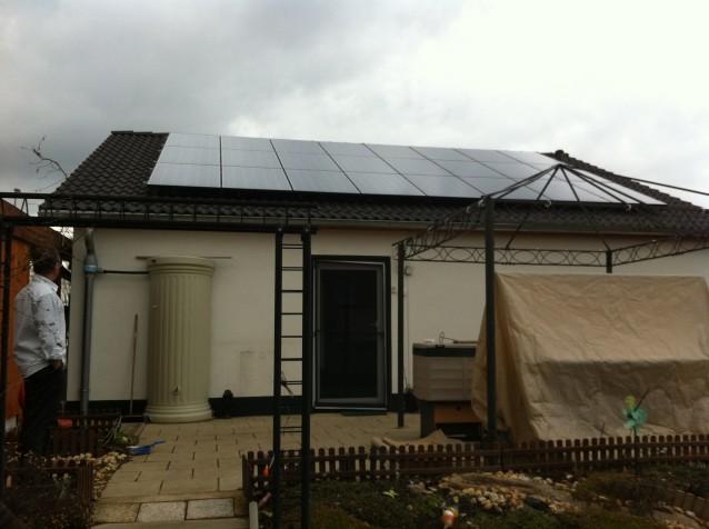 Photovoltaikanlage Erfurt mit LG Solar