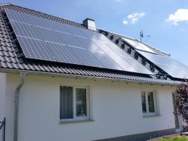 Photovoltaikanlage LG Module