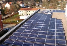 Photovoltaikanlage in Thüringen
