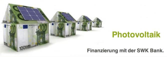 Finanzierungen von PV-Anlagen mit bewährten Banken