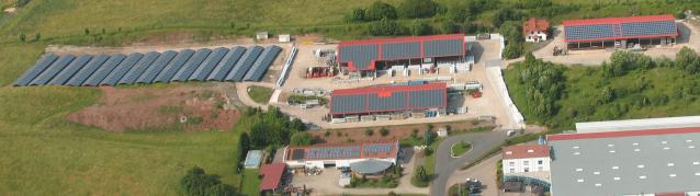 Klimafreundliche Firma in Thüringen
