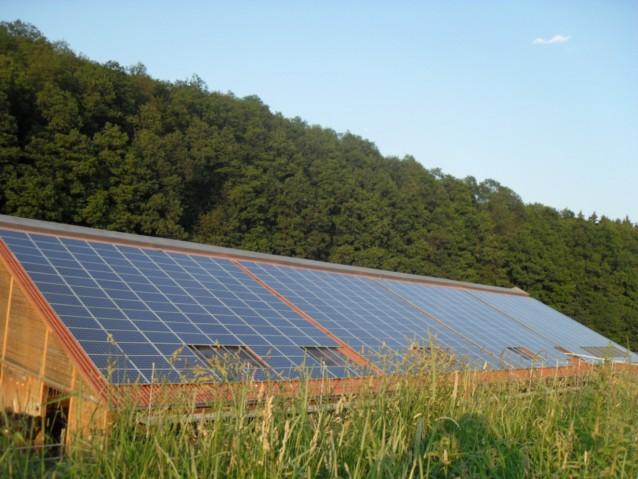Unternehmen Mit Photovoltaikanlage