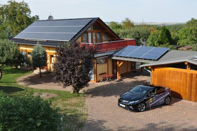 Dachtankstellen sind auch Solaranlagen in Thüringen