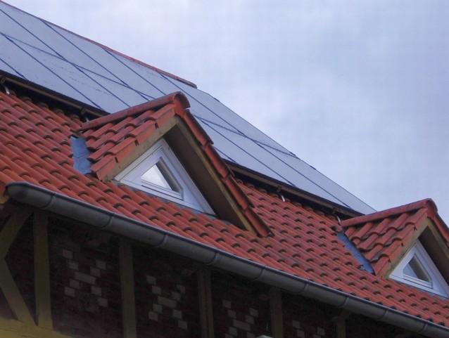 BenQ Green Triplex PM250M01 mit Solar Edge in Anrode, Unstrut-Hainich-Kreis Südseite