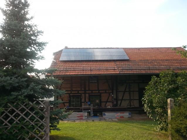 LG Module 255W mit SolarEdge WR