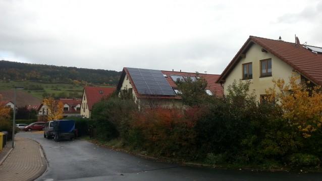 LG Module mit 290 W und SolarEdge WR