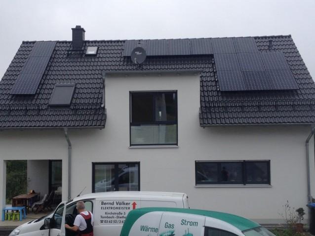 BenQ und SolarEdge als Eigenverbrauchsanlage in Erfurt