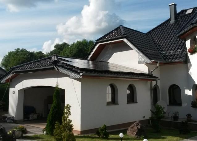 LG mit Neon Zelle und SolarEdge in Waltershausen