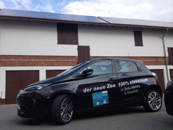 Renault Zoe von Autohaus Kasper bei maxx-solar