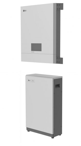 LG RESU ist ier im LG ESS als Komplettsystem verbaut