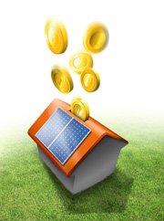 Ein Balkonmodul ist einfach anzubringen und spart viel CO2 und Geld