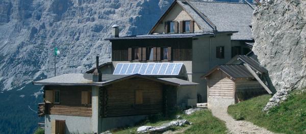 Autarke Energieversorgung sind besonders in den Bergen interessant