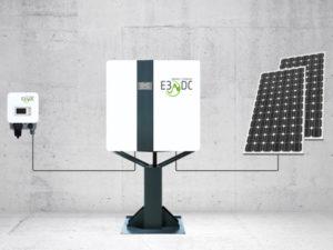 E§DC das kompletteste Batteriesystem mit Notstrom und Wallbox für ein E-Auto