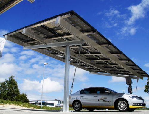 Solarcarport mit Ladestation- Vorteile, Kosten, Aufbau