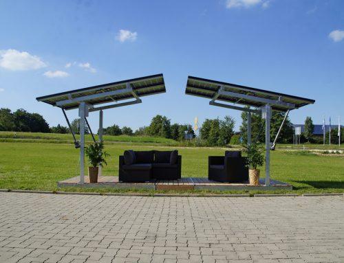 Solar Terrassenüberdachung für Haus und Garten