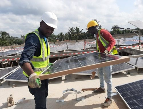 30 kWp Off-Grid Anlage für Training und Fertigung in Togo, Westafrika