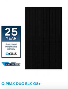 Q Cells Solarmodul G8 Plus mit 25 Jahre Garantie
