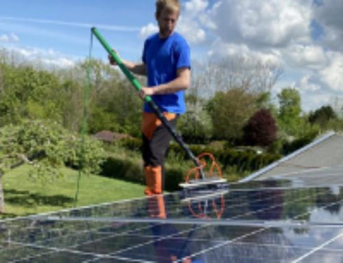 Die Solarreinigung bringt mehr Erträge