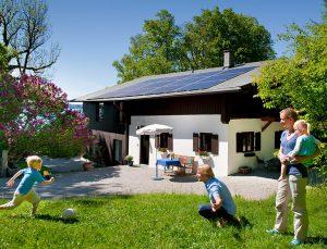 LG Solar Module sind optisch die Marktführer.