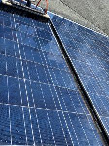 Solarreinigung Unterschied vorher nachher