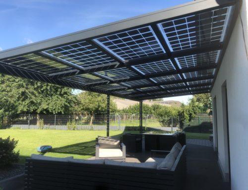 Solarterrasse vs. Terrassenüberdachung- ein Online Rechner