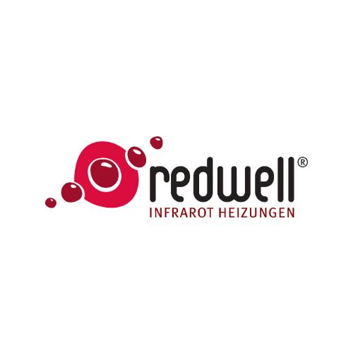 Das Logo unserer Partnermanufaktur Redwell für Infrarotheizungen in Thüringen