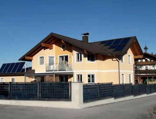 Der Solarzaun, der sich SELBER zahlt