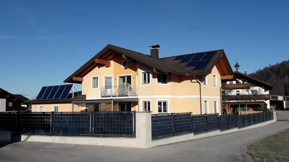 Solarzaun privat
