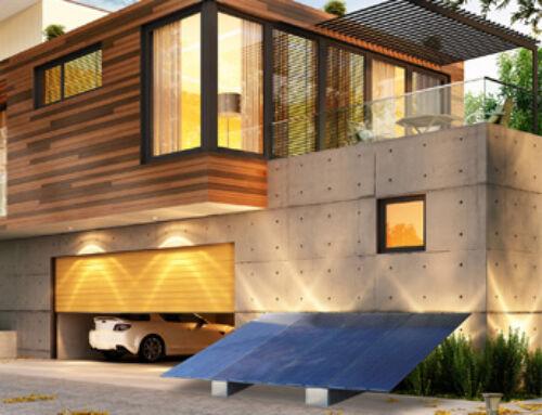 Garten PV System- Bodenaufständerung