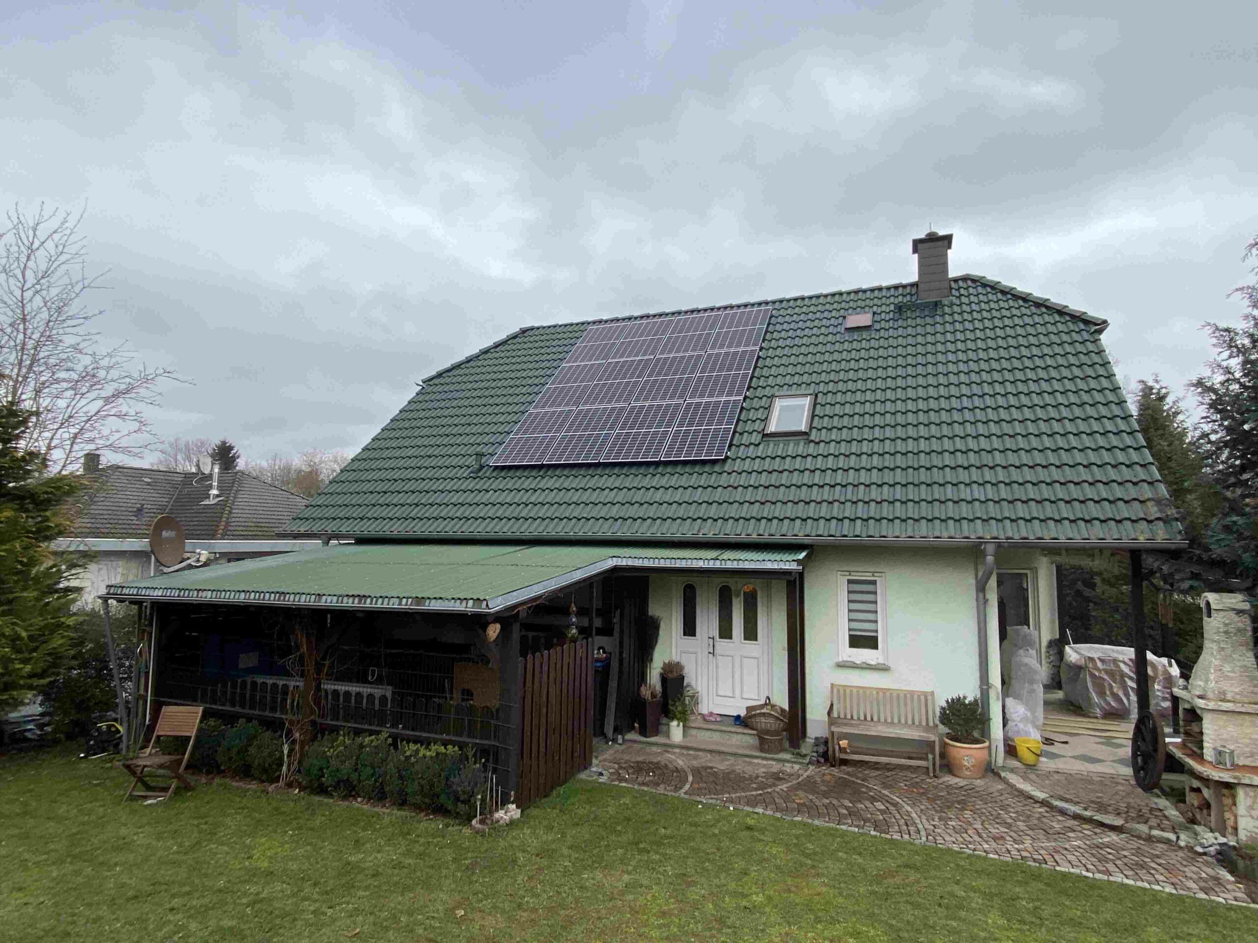 Ost West Solaranlage im Wartburgkreis