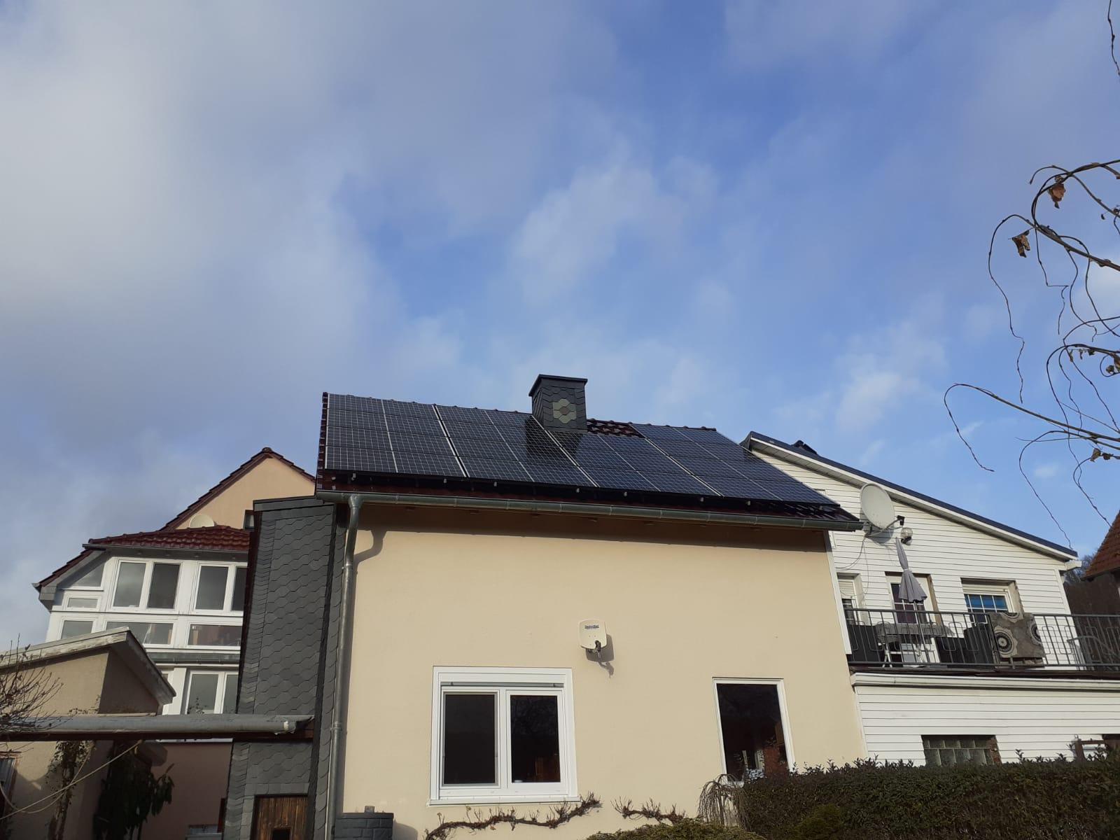 Nach der Solaranlage